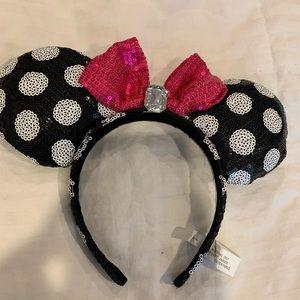 Polka dot Minnie Ears